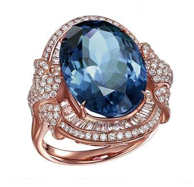 卓洋坦桑石戒指